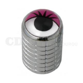 Bouchon de valve Œil rose